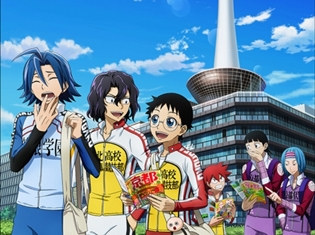 『弱虫ペダル GLORY LINE』山下大輝さん・福島潤さんが京都タワーに登場! SPトークショー開催決定