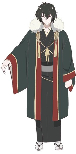 『かくりよの宿飯』第24話「玉の枝サバイバル。」の先行場面カット公開! 葵は銀次、乱丸、チビとともに水墨画の世界に向かう-3