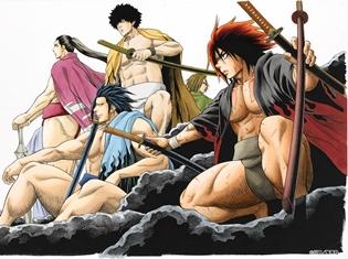 『火ノ丸相撲』がアニメ化決定! 高校相撲に賭ける男たちの「友情」「努力」「勝利」が詰まった、血沸き肉躍る青春格闘ロマン