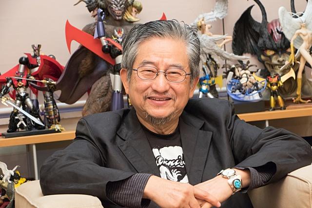 ▲永井豪先生
