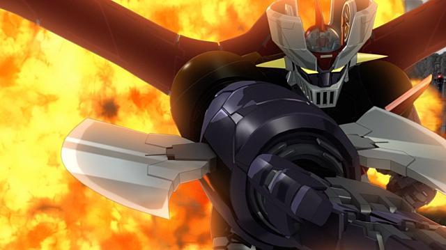 ▲武器(4)アイアンカッター:故もりもり博士の改良で、必殺技ロケットパンチがパワーアップ。ロケットパンチの側面から超合金Zのブレードを展開、敵を切り裂きます。