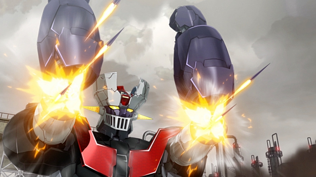 ▲武器(5)ドリルミサイル:両上腕部内部から、ドリル状のミサイルを連射。1秒間2万回転で敵を貫くドリルは、やっぱり「ロボットもの」のロマンです。