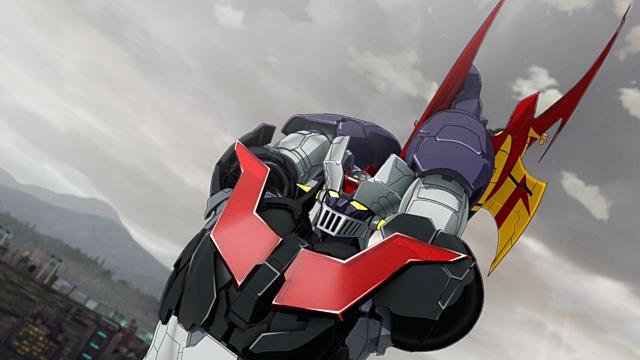 ▲武器(9)スクランダーカッター:ジェットスクランダーの翼も超合金Z製で、それ自体が鋭利な刃物。空中戦で敵をまっぷたつに切り裂きます。