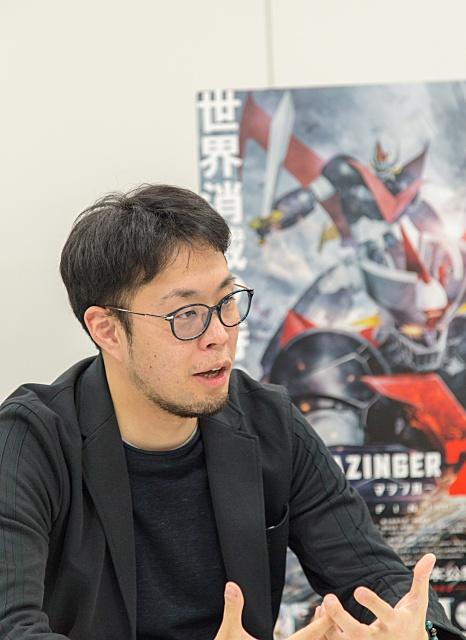 ▲『劇場版 マジンガーZ / INFINITY』金丸裕プロデューサー