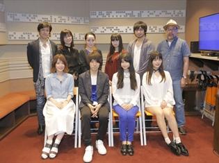 アニメ『キリングバイツ』第1話より先行場面カットが到着! さらに、雨宮天さんと羽多野渉さんのコメント&アフレコ集合写真も公開!