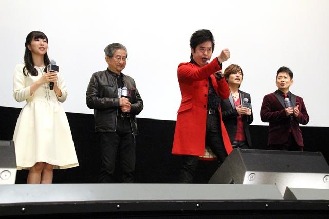 森久保祥太郎さん、茅野愛衣さん、上坂すみれさん、花江夏樹さんらが大合唱! 水木一郎さん、永井豪先生も登壇した『劇場版 マジンガーZ / INFINITY』公開初日舞台挨拶レポート