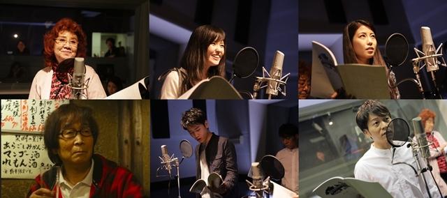 『#声だけ天使』第1話声優陣の先行場面カット公開