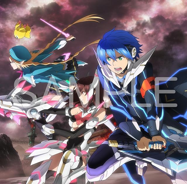 『PSO2』TVアニメ主題歌・キャラクターソングコンプリートアルバムが発売決定