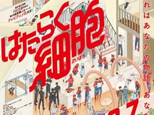 体内細胞擬人化マンガ『はたらく細胞』2018年7月にTVアニメ化決定! キービジュアル・アニメ化発表PV&メインスタッフ情報解禁!