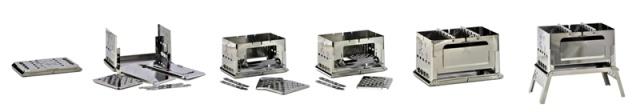 ▲折りたたむと厚さ18mmになるコンパクト設計。重量はわずか500gのポータブルサイズ。