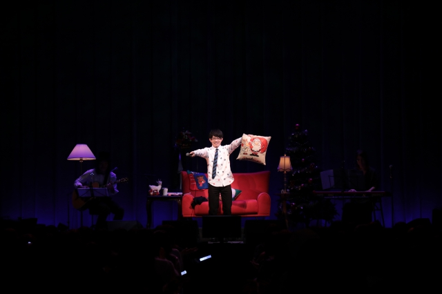 歌とトークのギャップが最高!? 新レーベル「T's MUSIC」設立の豊永利行さん、アコースティッククリスマスライブをレポート