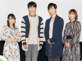 西山さん&梅原さんが「おまなえ列車」を再現!TVアニメ『学園ベビーシッターズ』先行上映会レポート