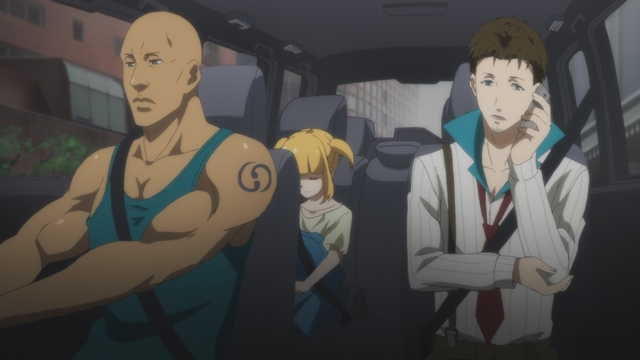 TVアニメ『博多豚骨ラーメンズ』第9話「エンドラン」の先行場面カットが到着! 過去に殺し屋として訓練を受けた林は、そこで出会った相棒のことを思い出す-2