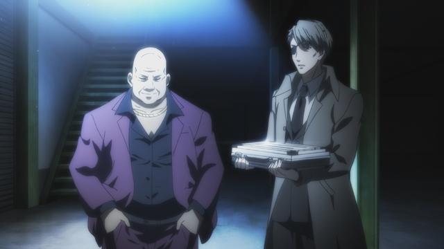TVアニメ『博多豚骨ラーメンズ』第9話「エンドラン」の先行場面カットが到着! 過去に殺し屋として訓練を受けた林は、そこで出会った相棒のことを思い出す-3