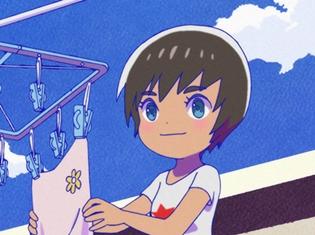 『おそ松さん』第2期、第16話「宇宙海賊」「グルメ回」「となりのかわい子ちゃん」の先行カット到着! 松野家の隣に越して来たのは!?