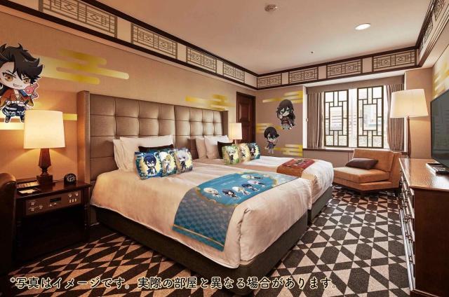 『活撃 刀剣乱舞』と東京プリンスホテルのコラボルーム予約スタート