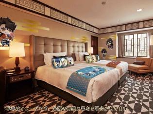 『活撃 刀剣乱舞』と東京プリンスホテルのコラボルームが1月29日より予約スタート! 描き下ろしイラストと部屋イメージも解禁