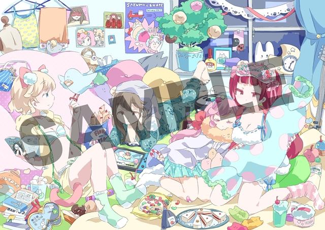 TVアニメ『URAHARA』BD&DVD-BOXのジャケットデザイン、法人別特典ビジュアルが公開! 映像特典は春奈るなさんら声優陣によるスペシャル座談会-3