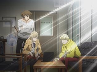 TVアニメ『博多豚骨ラーメンズ』第3話の先行カットが到着! 殺人の罪を着せられた斉藤は、ジローに真犯人への復讐を依頼する
