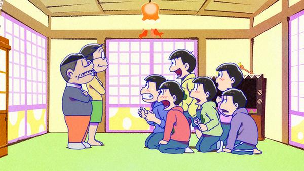 『おそ松さん』第2期、第17話の先行場面カット&あらすじ到着