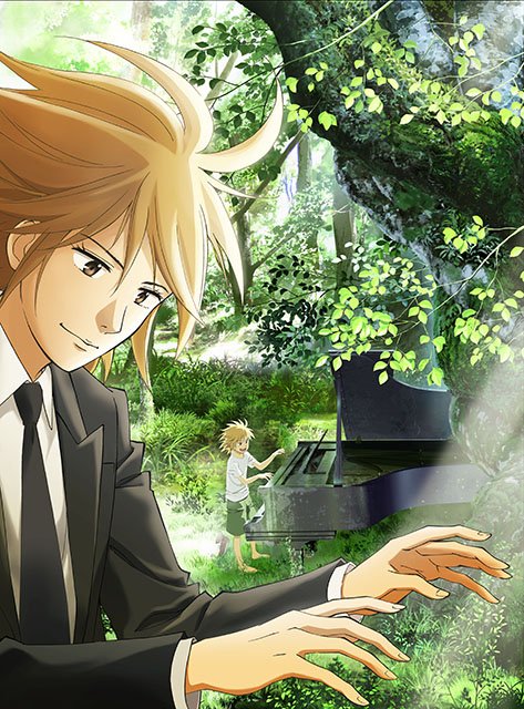 『ピアノの森』斉藤壮馬、諏訪部順一、花江夏樹ら出演決定