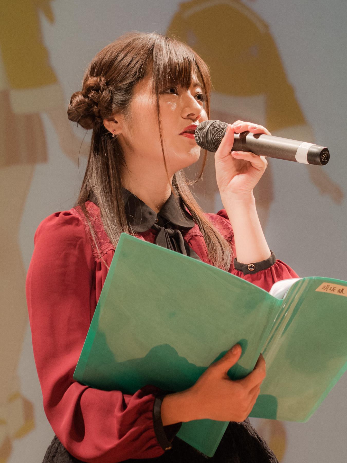 新作アニメ『ひもてはうす』爆笑トークショーに洲崎綾さん、明坂聡美さん、三森すずこさん、西明日香さんが出演