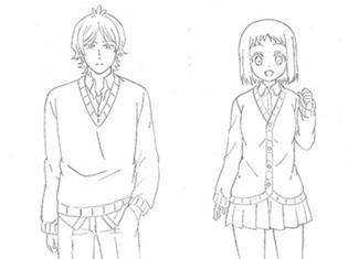 TVアニメ『あっくんとカノジョ』放送時期が2018年春に決定! 主要キャラクター4名の設定画も大公開