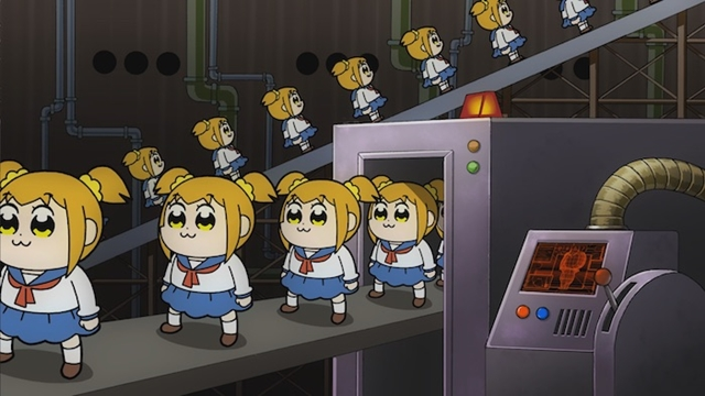TVアニメ『ポプテピピック』#3「ザ・ドキュメント」より場面カットが到着の画像-8