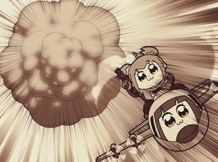 TVアニメ『ポプテピピック』#4「SWGP2018」より場面カットが到着!