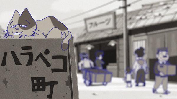 『おそ松さん』第2期・第18話「イヤミはひとり風の中」の先行カット公開