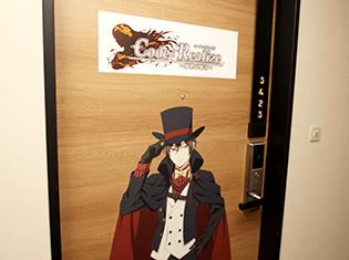 ホテルマンに扮したキャラがお出迎え! TVアニメ『Code:Realize ~創世の姫君~』×「サンシャインシティプリンスホテル」コラボをフォトレポート!