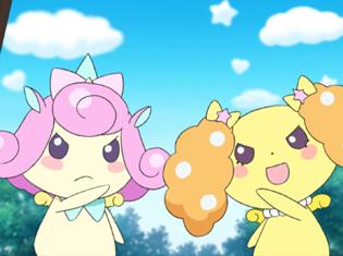 TVアニメ『アイドルタイムプリパラ』第45話より先行場面カット到着!昼のコーデをかけて、ゆいとしゅうかがライブ対決