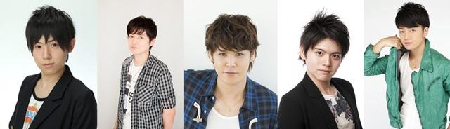 ▲左から山下大輝さん、下野紘さん、宮野真守さん、内田雄馬さん、福山潤さん