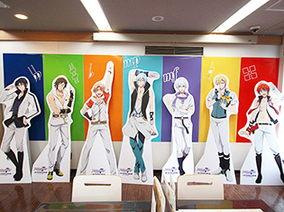 TVアニメ放送記念! アニメ『アイドリッシュセブン』カフェをフォトレポート! 限定グッズに、見逃せないキャンペーンも実施中
