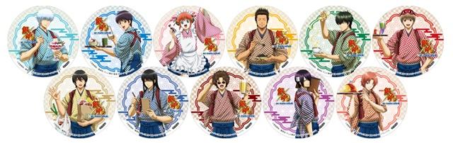 『銀魂』×アニメイトカフェが池袋・名古屋・仙台で開催!