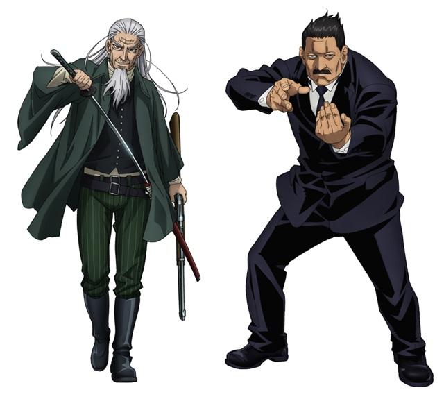 『ゴールデンカムイ』追加声優に中田譲治・乃村健次・菅生隆之決定
