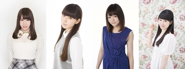 ▲左から小野早稀さん、佐武宇綺さん、若井友希さん、東山奈央さん