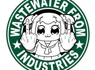 「ポプテピピック工業廃水 マグカップ」が発売決定! いつものコーヒーも工業廃水に早変わり!? 「AJ2018」にて先行販売も