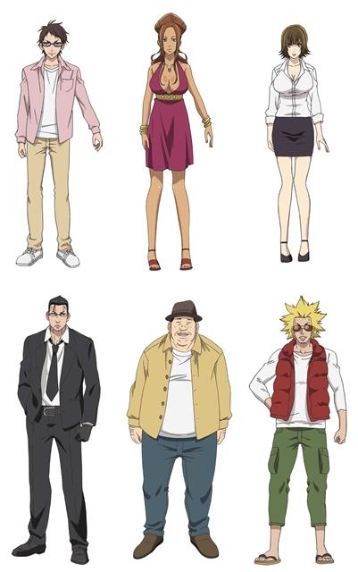 『奴隷区』アニメの追加声優&キャラクタービジュアル公開