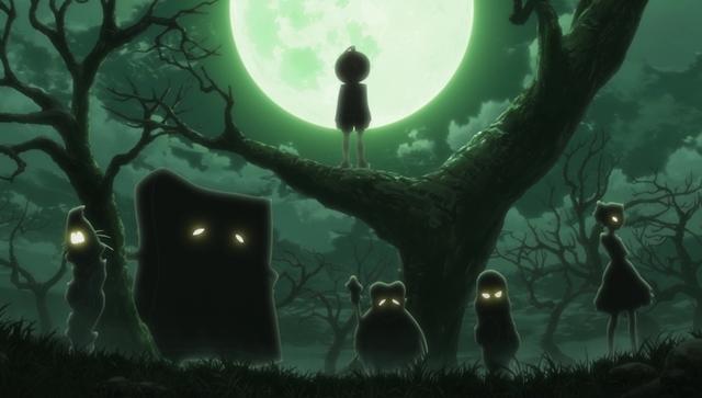 『ゲゲゲの鬼太郎』第46話「呪いのひな祭 麻桶毛」より先行カット公開! 廊下には、お内裏様とお雛様のみ置かれた7段飾りが……-9