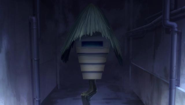 『ゲゲゲの鬼太郎』第46話「呪いのひな祭 麻桶毛」より先行カット公開! 廊下には、お内裏様とお雛様のみ置かれた7段飾りが……-15