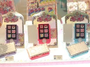 『キラッとプリ☆チャン』なりきり玩具やアーケード筐体連動の注目グッズなど最新グッズが展示!