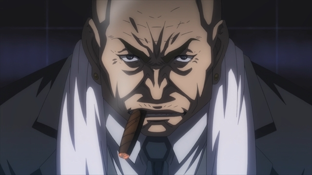 TVアニメ『キリングバイツ』第8話より、先行場面カットが到着! 今回の「獣獄刹(デストロイヤル)」は財閥間の代理戦争でもあった……。-3