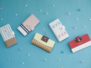 『サンリオ男子』よりお財布&スマートフォンケースが登場! 購入者にはイラストカードを特典としてプレゼント!