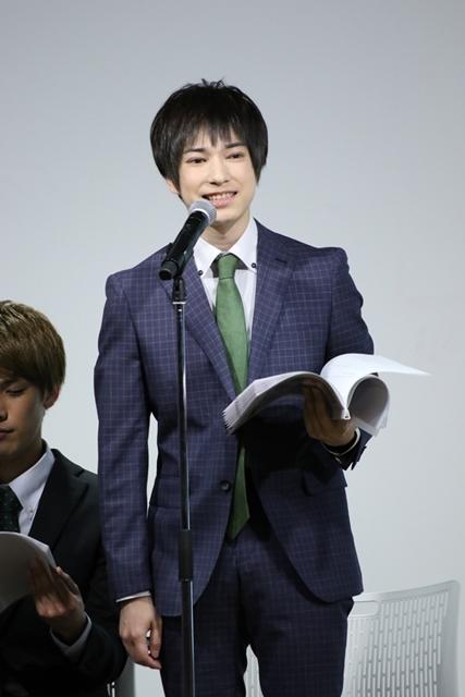 ▲菱乃木賢悟役・ランズベリー・アーサーさん