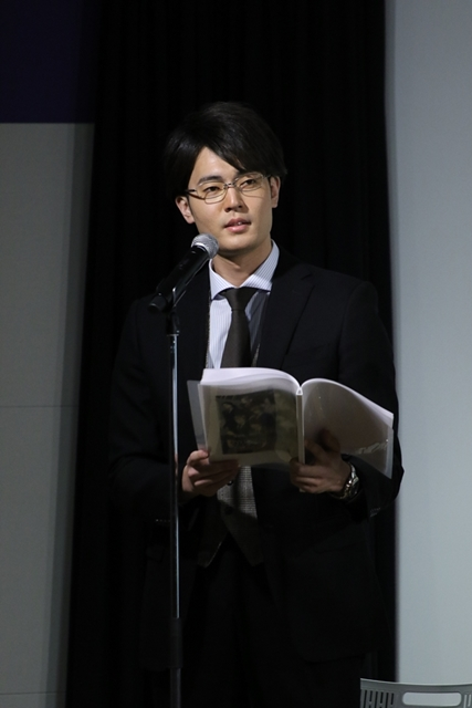 ▲菅原数臣役・駒田航さん