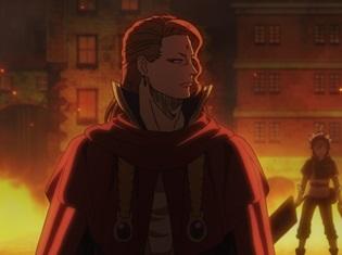 『ブラッククローバー』第23話「紅蓮の獅子王」の先行場面カット公開! アスタのピンチを救ったのは、フエゴレオン団長(CV:小西克幸)だった