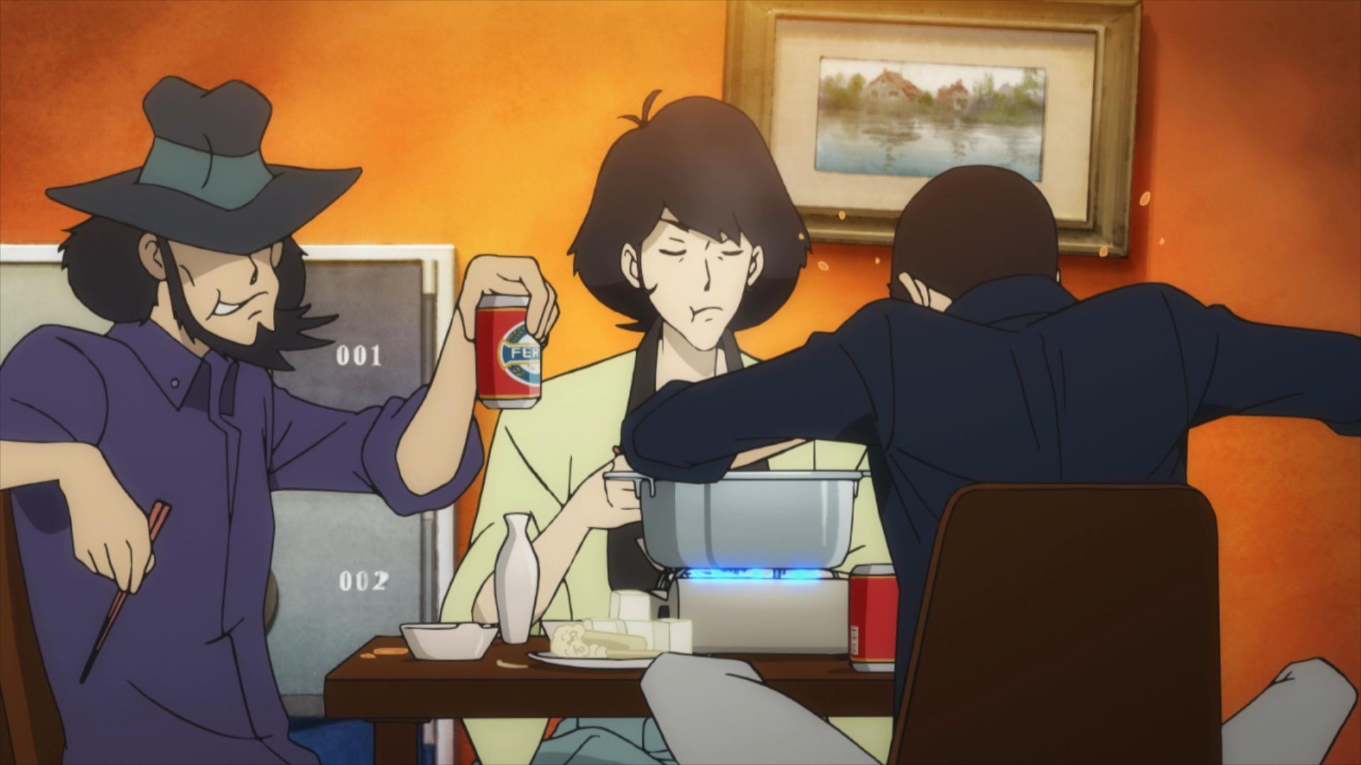 『ルパン三世 PART5』BD&DVD Vol.1のオーディオコメンタリーに、栗田貫一さん&小林清志さん出演-136