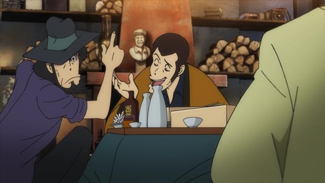 『ルパン三世 PART5』BD&DVD Vol.1のオーディオコメンタリーに、栗田貫一さん&小林清志さん出演-87