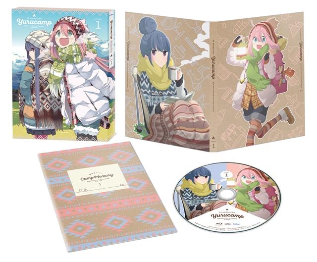 TVアニメ『ゆるキャン△』BD&DVD第1巻が本日3月28日発売